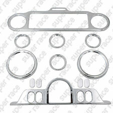 Chrom Switch Panel Accent Trim Ring For Harley Touring Electra Glides FLHT 96-13