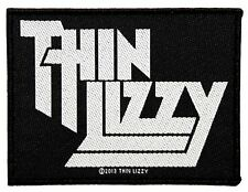 """Thin Lizzy"" Rock Band Logo Irish Blues Metal Merchandise Sew On Applique Patch"