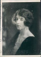 1922 Lady Doris Gordon Lennox Daughter of The Earl of March Press Photo