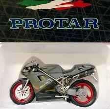 PROTAR 1:9 MODELLO MONTATO PLASTICA E METALLO  MOTO DUCATI SENNA 95 ART 10271