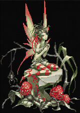 Champignon Fée Compté Cross Stitch Kit fantasy, dessins en fil FREE P&P