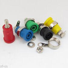 1set 5 colors 4mm Binding Post Banana Jack 4mm Safety protection Plug 2099