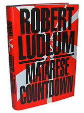 THE MATARESE COUNTDOWN by Robert Ludlum 1997, 1st Edition, 1st Print, HC