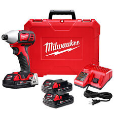 Milwaukee 2657-22CT M18 18-Volt 2-Speed 1/4-Inch Hex Impact Driver w/ Batte