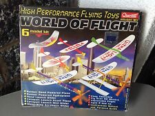Quercetti World of Flight, 6 Modelli 6 model kit libella sirius hydroplane NIB