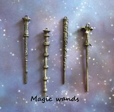 Wizard inspired Magic Wand Silicone Mold Fondant Modeling Chocolate Polymer clay