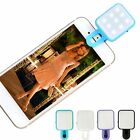 Portable Mini LED Flash Fill Selfie Light Lamp Outdoor Lighting For Phone Tablet