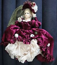 "22"" BRINN'S AUTHENTIC COLLECTIBLE EDITION LIMITED EDITION VICTORIAN DOLL"