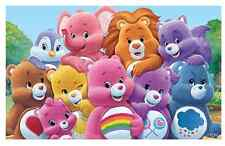 """Care Bear Cousins Iron On Transfer 4.25"""" x 7"""" for LIGHT Colored Fabric"""