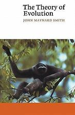 Canto Ser.: The Theory of Evolution by John Maynard Smith (1993, Paperback,...