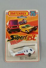 Matchbox Superfast Helicopter Rescue Nr. 75 OVP