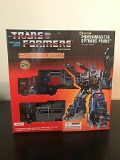 Transformers Powermaster Optimus Prime Commemorative Series II Sealed G1 Reissue