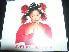 Janet Jackson Together Again Australian Remixes CD Single
