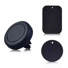 1 Set Black Universal Magnetic Car Air Vent Holder  For Mobile Cell Phone GPS