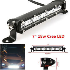 "1x 7"" 6000K 3600LM CREE LED Spot Lights Driving Car Work Light Bar For Van SUV ."