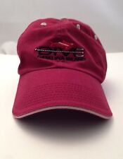 Catalina Island DIVE Maroon Cap Hat Fish Travel Snorkel Boat Ocean