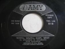 PROMO Stan Robinson North, South, East, West / The Exodus of Pepe 1961 45rpm