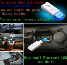 Car USB Audio Receiver Bluetooth Wireless Speaker Music+Call Adapter For Phones#