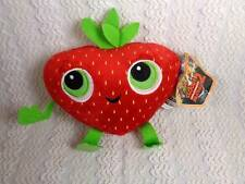Cloudy with a Chance of Meatballs 2 Barry Strawberry Plush Toy w Tags Kellytoy