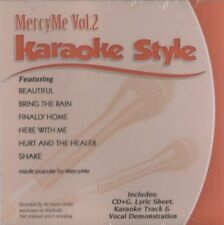 MercyMe Vol. 2 Karaoke CD+G By MercyMe 2014 BRAND NEW & SEALED