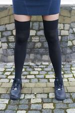 "Bonnie Doon  Strumpfhose  "" Over the Knee Tights  "" Gr L  Neu Trend   Schwarz"