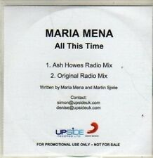 (BR669) Maria Mena, All This Time - DJ CD
