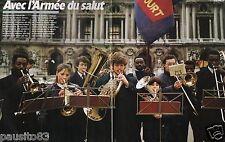Coupure de presse Clipping 1989 Géo L Armée du Salut  (10 pages)