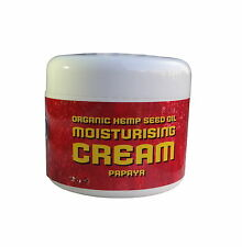 YAOH ORGANIC HEMP SEED OIL PAPAYA MOISTURISING CREAM 56g - VEGAN - FREE POST