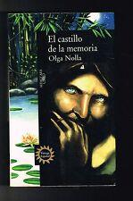 Olga Nolla El Castillo De La Memoria Novela Puerto Rico 1st Edition 1996