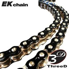 EK Chain 520Z Connecting Rivet Link, Black/Gold  3D 520Z CL RVT MLJ BLK/GLD