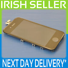 IPHONE 4 BLACK  LCD TOUCH SCREEN DISPLAY DIGITIZER GLASS ASSEMBLY WITH FRAME