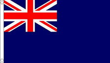 5' x 3' Blue Naval Ensign Flag British Royal Navy Flags Banner