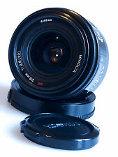 MINOLTA ALPHA / SONY A MOUNT 28mm f/2.8 AUTO FOCUS WIDE-ANGLE AF PRIME LENS