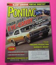 HIGH PERFORMANCE PONTIAC MAGAZINE AUG/2003...BLAZIN' CANADIAN: PONTIAC SHOOTOUT