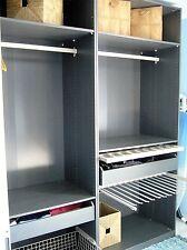 IKEA PAX Kleiderschrank KOMPLEMENT GRAU 2 Meter breit Neupreis 600 EUR