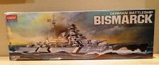 ACADEMY MPN 14109 BISMARCK 1/350 SCALE GERMAN BATTLESHIP PLASTIC MODEL KIT