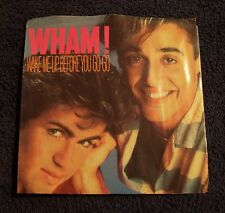 Wham 45 Record Wake Me Up before you Go-Go Vintage 1984