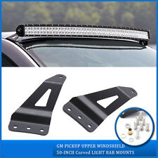 "07-13 GMC/Chevy Silverado 50""/52'' Curved LED Light Bar Roof Mounting Bracket"