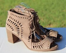 Vince Camuto Tarita Cut Out Bootie Sandals Size 11 / 41