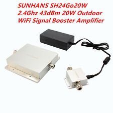 SUNHANS SH24Go20W 2.4Ghz 43dBm 20W Outdoor WiFi Signal Booster Amplifier