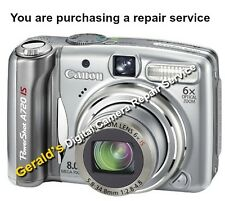 CANON PowerShot A720 IS DIGITAL CAMERA REPAIR SERVICE - 60 DAY WARRANTY