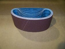 "PREMIUM  A/O,  X-WEIGHT  SANDING  BELTS  3"" X 21"",  10 - PACK,  100-GRIT"