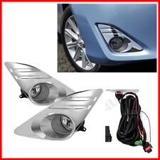 12-14 Toyota Camry Bumper Fog Lights Driving Lamps Set Pair Assembly Kit OE
