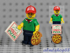 LEGO Series 12 - Pizza Delivery Guy 71007 Minifigure Pepperoni Man Collectible