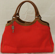 FOSSIL Classic Red Dual Handle Hand Bag 75082 Purse