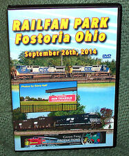 "20337 TRAIN VIDEO DVD ""RAILFAN PARK FOSTORIA OHIO"" 2014"