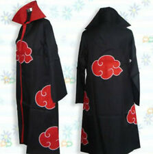 Anime costume Naruto Akatsuki Cosplay Costume Cloak M L XL XXL