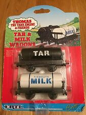 """MILK & TAR WAGONS"" THOMAS & FRIENDS - ERTL - DIE-CAST - RARE"
