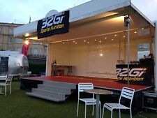 STAGE HIRE, 6M X 4M COVERED STAGE FOR HIRE, LIVE BANDS, EVENTS, FATES, FUN DAYS,