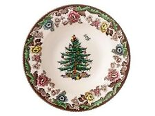 Spode Christmas Tree Grove Rim Soup plate 9""